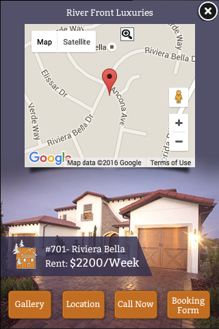 real estate - location targeted mobile ad maps