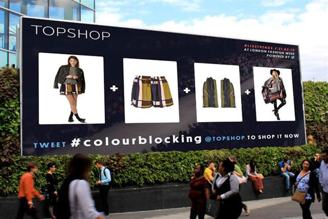 Topshop Location-Based Marketing Examples