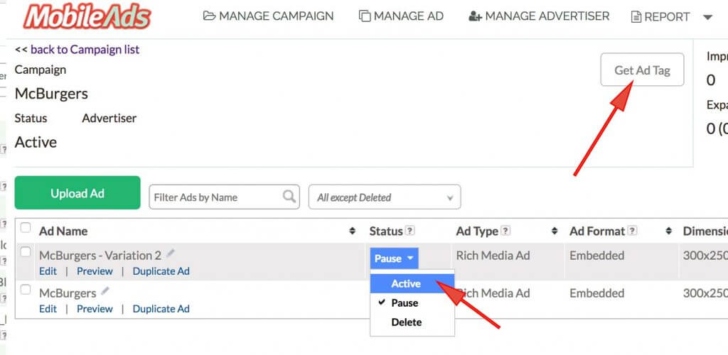 How To Use MobileAds' Ad Tag Generator 2