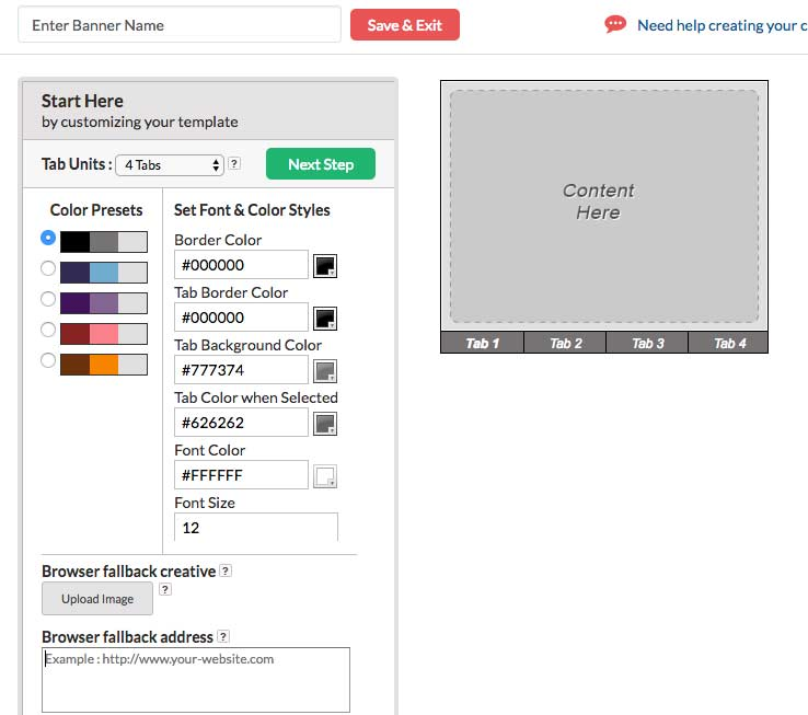 How To Create HTML5 Banner Ads 3